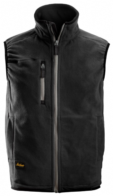 Snickers 8014 A.I.S. Fleece Vest (Black)
